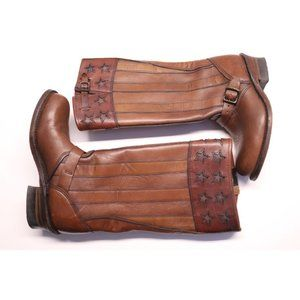 Frye womens equestrian riding boots leather sz 8.5